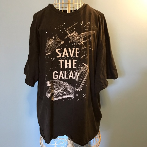 Star Wars Other - Star Wars Save The Galaxy Vintage Graphic Tee